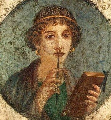 roman-woman-mulling-book