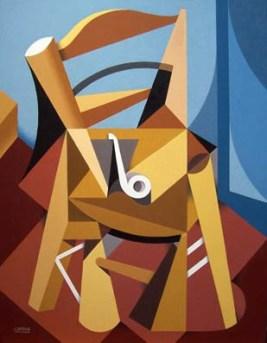 rafa chevira-cubismo-silla van gogh